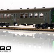 Wagon osobowy doczepny 2 kl Ryflak DBhixt (Robo 101Awaw222)