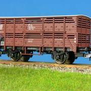 Wagon towarowy kryty do przewozu zwierząt .Hek (Sn) (Sachsenmodelle 76166)