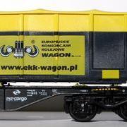 Wagon platforma kontenerowa Sgnss (Adam-Modellbau 08321-3)