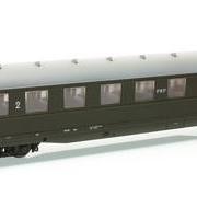 Wagon osobowy 2 kl Bhxz (Parowozik Marklin 43238 M/20406)