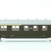 Wagon osobowy 1/2 kl ABhxz (Parowozik Marklin 43237 M/12259)