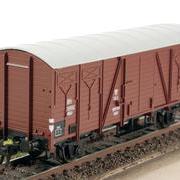 Wagon towarowy kryty Kddt (Klein Modellbahn LM 08/06)