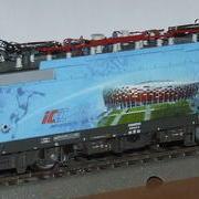 Lokomotywa uniwersalna elektryczna Husarz Euro 2012 Stadion Narodowy EU44 (DarekW Roco 62378)