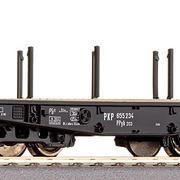 Wagon platforma czołgowa  Ppyk 203 (Roco 66385)