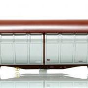Wagon towarowy z przesuwanymi ścianami Hbbillns (Roco 66577)