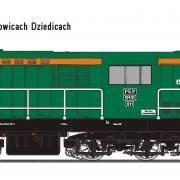 Lokomotywa manewrowa spalinowa SM31 (EFC-Loko SM31011)