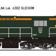 Lokomotywa manewrowa spalinowa SM31 (EFC-Loko SM31028)
